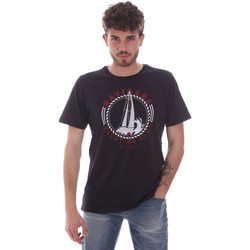 textil Hombre Camisetas manga corta Navigare NV31113 Azul