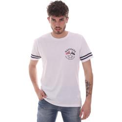 textil Hombre Camisetas manga corta Navigare NV31123 Blanco