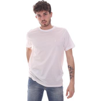 textil Hombre Camisetas manga corta Navigare NV71003 Blanco
