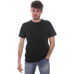 textil Hombre Camisetas manga corta Navigare NV71003 Verde