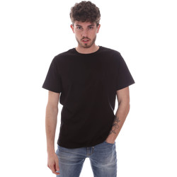 textil Hombre Camisetas manga corta Navigare NV71003 Negro