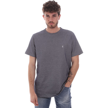 textil Hombre Camisetas manga corta Navigare NV81007 Gris