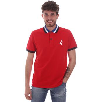 textil Hombre Polos manga corta Navigare NV82116 Rojo