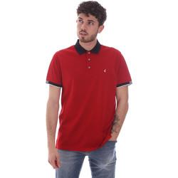 textil Hombre Polos manga corta Navigare NV72058 Rojo
