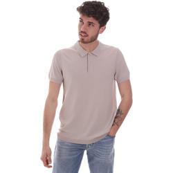textil Hombre Polos manga corta Gaudi 111GU53015 Beige