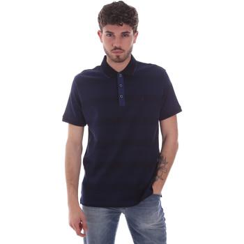 textil Hombre Polos manga corta Navigare NV70035 Azul