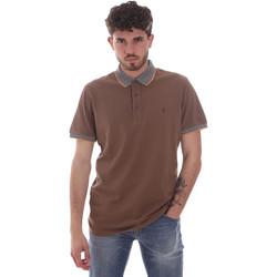 textil Hombre Polos manga corta Navigare NV82125 Marrón