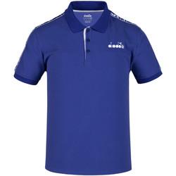 textil Hombre Polos manga corta Diadora 102175672 Azul