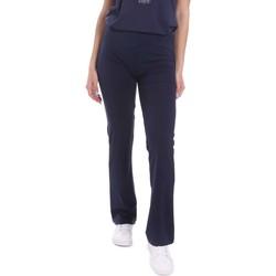 textil Mujer Pantalones fluidos Key Up 5LI20 0001 Azul