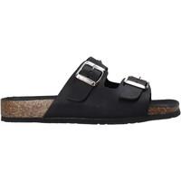 Zapatos Mujer Zuecos (Mules) Bionatura 10THEDB-I-GAUNER Negro