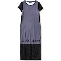 textil Mujer Vestidos largos Liu Jo TA1139 J6187 Negro