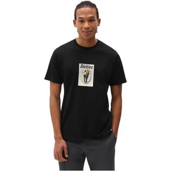 textil Hombre Camisetas manga corta Dickies DK0A4X9IBLK1 Negro
