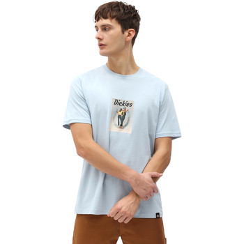 textil Hombre Camisetas manga corta Dickies DK0A4X9IB551 Azul