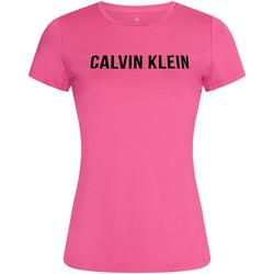 textil Mujer Camisetas manga corta Calvin Klein Jeans 00GWF0K168 Rosado