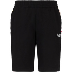 textil Hombre Shorts / Bermudas Ea7 Emporio Armani 3KPS81 PJ05Z Negro