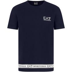 textil Hombre Camisetas manga corta Ea7 Emporio Armani 3KPT05 PJ03Z Azul