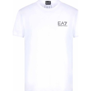 textil Hombre Camisetas manga corta Ea7 Emporio Armani 3KPT06 PJ03Z Blanco