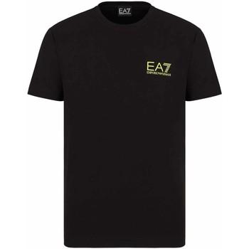 textil Hombre Camisetas manga corta Ea7 Emporio Armani 3KPT06 PJ03Z Negro