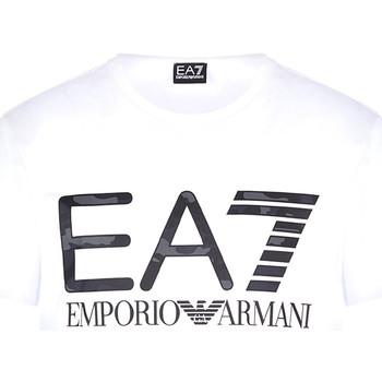 textil Hombre Camisetas manga corta Ea7 Emporio Armani 3KPT27 PJ7CZ Blanco