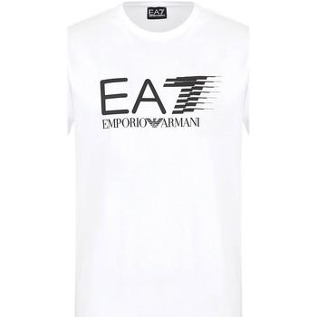 textil Hombre Camisetas manga corta Ea7 Emporio Armani 3KPT39 PJ02Z Blanco