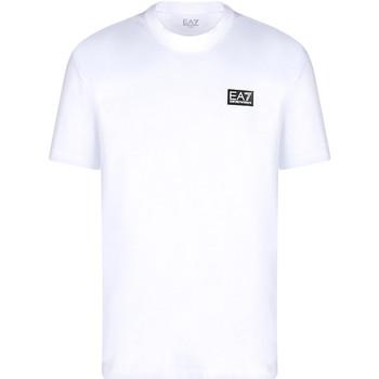 textil Hombre Camisetas manga corta Ea7 Emporio Armani 3KPT63 PJ6EZ Blanco