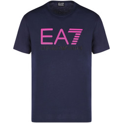 textil Hombre Camisetas manga corta Ea7 Emporio Armani 3KPT78 PJACZ Azul