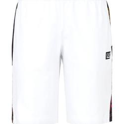 textil Hombre Bañadores Ea7 Emporio Armani 3KPS81 PJ05Z Blanco