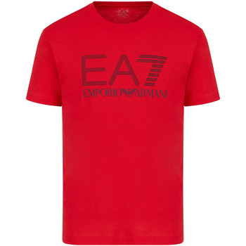 textil Hombre Camisetas manga corta Ea7 Emporio Armani 3KPT81 PJM9Z Rojo