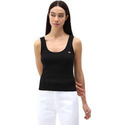 textil Mujer Camisetas sin mangas Dickies DK0A4XB9BLK1 Negro