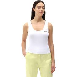 textil Mujer Camisetas sin mangas Dickies DK0A4XB9WHX1 Blanco