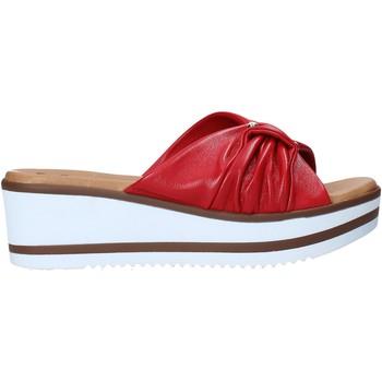Zapatos Mujer Zuecos (Mules) Susimoda 1910 Rojo