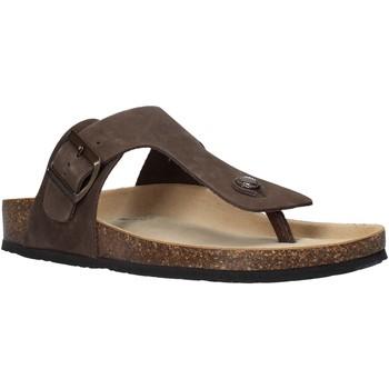 Zapatos Hombre Chanclas Bionatura 11FINGU-I-NABTMO Marrón