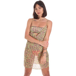 textil Mujer Vestidos cortos Me Fui M20-0456X2 Amarillo