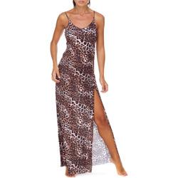 textil Mujer Vestidos largos Me Fui M20-0462X1 Marrón