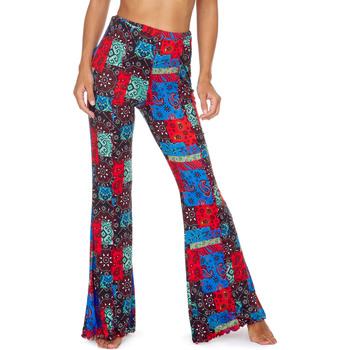 textil Mujer Pantalones fluidos Me Fui M20-0363X1 Rojo