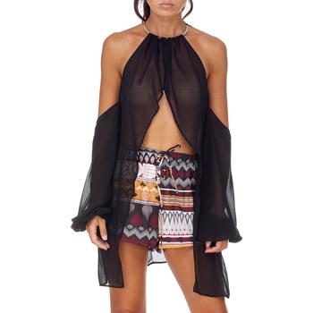 textil Mujer Tops / Blusas Me Fui M20-0053NR Negro