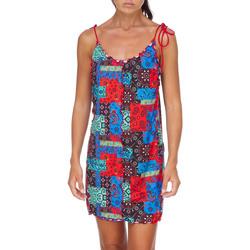 textil Mujer Vestidos cortos Me Fui M20-0361X1 Rojo