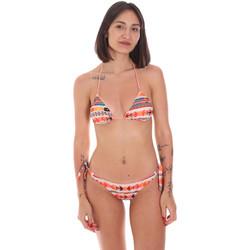 textil Mujer Bikini Me Fui M20-0033X2 Naranja