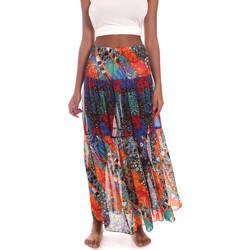 textil Mujer Faldas Me Fui M20-0381U Azul