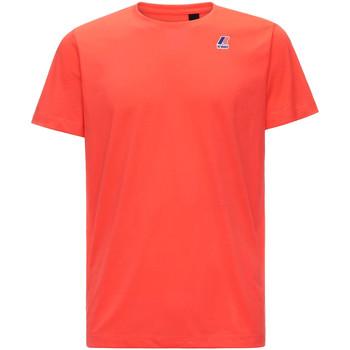 textil Hombre Camisetas manga corta K-Way K007JE0 Rojo