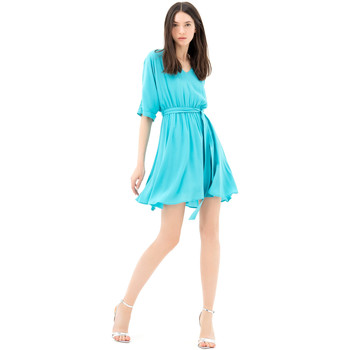 textil Mujer Vestidos cortos Fracomina FR21SD1024W42801 Azul
