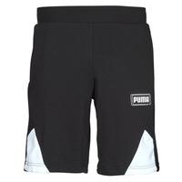 textil Hombre Shorts / Bermudas Puma RBL SHORTS Negro / Blanco