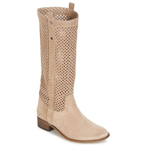 Zapatos Mujer Botas urbanas Betty London DIVOUI Beige