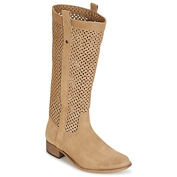 Zapatos Mujer Botas urbanas Betty London DIVOUI Camel