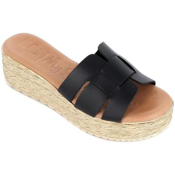 Zapatos Mujer Zuecos (Mules) Oh My Sandals 4930 Negro