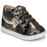 Zapatos Niña Zapatillas altas Shoo Pom BOUBA ARROW Negro