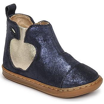 Zapatos Niña Botas de caña baja Shoo Pom BOUBA APPLE Azul