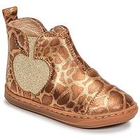 Zapatos Niña Botas de caña baja Shoo Pom BOUBA APPLE Marrón