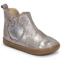 Zapatos Niña Botas de caña baja Shoo Pom BOUBA NEW APPLE Azul