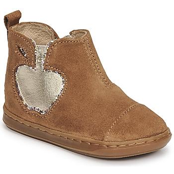 Zapatos Niña Botas de caña baja Shoo Pom BOUBA NEW APPLE Marrón